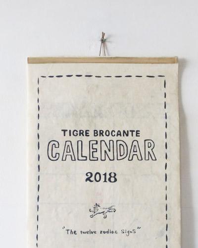 TIGRE BROCANTEのカレンダーのサムネイル画像