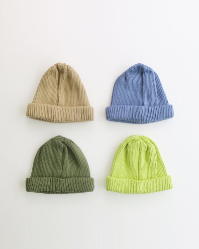 RoToTo COTTON ROLL UP BEANIE ロトト ビーニー