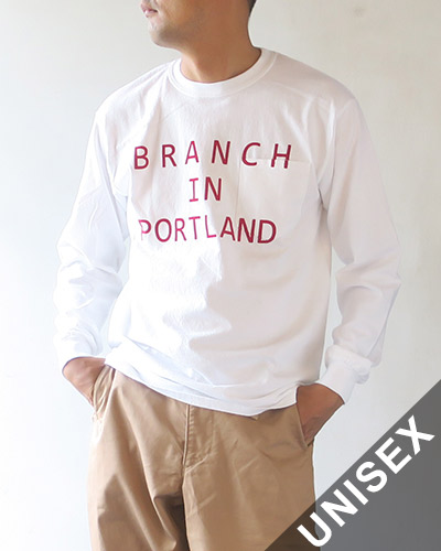 THE DAY ON THE BEACH Long sleeve pocket-T B.R. in PORTLAND ザデイオンザビーチ 長袖ポケットT