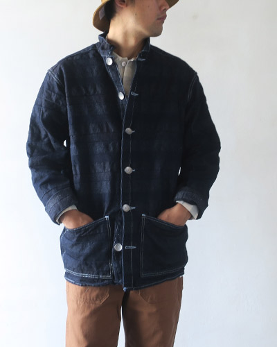 TENDER Co. テンダーコー  490 FLOOR SHIRT DOUBLE INDIGO&LINEN シャツ