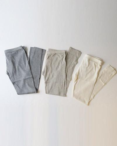 evam eva vie - supima organic cotton leggings エヴァムエヴァヴィー スーピマ オーガニック コットン レギンス