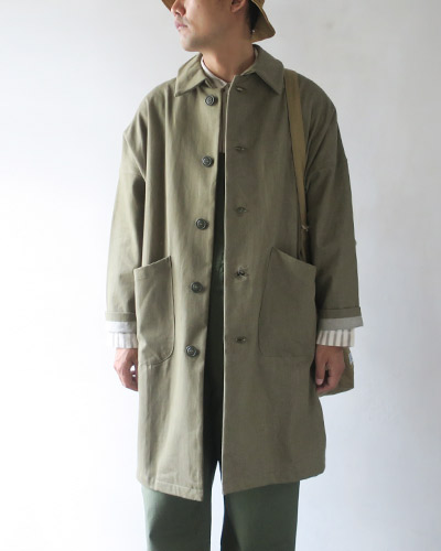 YARMO ヤーモ DUSTER COAT - British Army Denim コート