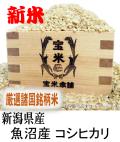令和3年産 新潟県産 魚沼産 コシヒカリ(玄米1Kg)