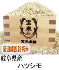 令和元年産 岐阜県産 ハツシモ(玄米1Kg)