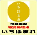 令和3年産 福井県産 いちほまれ 特別栽培米 24kg(8kgX3袋)