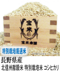 令和元年産 長野県産 北信州 献穀米 特別栽培米 コシヒカリ(玄米1Kg)