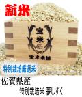 令和元年産 佐賀県産 夢しずく  伊万里深山米 特別栽培米 (玄米1Kg)