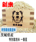 令和元年産 茨城県産 特別栽培米 一番星 (玄米1Kg)