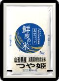 山形県産 おきたま 減農薬特別栽培米 つや姫 無洗米 5kg 真空パック