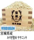 令和元年産 宮城県産 特別栽培米 ササニシキ (玄米25Kg)