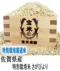 30年産 佐賀県産 JAさが あうち 特別栽培米 さがびより (玄米25Kg)