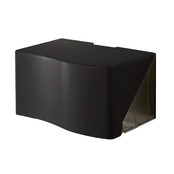 【TakaraPlaza限定品】ペーパータオルホルダー ブラック (ペーパー200枚~300枚 壁掛け専用タイプ) PT200<K>