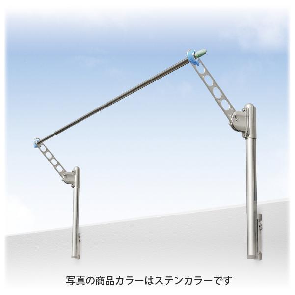 DRY・WAVE(ドライ・ウェーブ) 腰壁用可動式物干金物SDK-P+KA50(ホワイト)