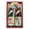 高砂 干支ラベル<丑>日本酒ギフトセット1800ml