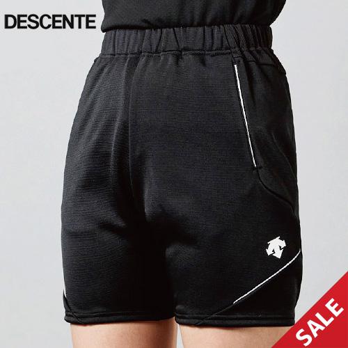 【デサント】DSP1101W クォーターパンツ【すっきりシルエット】(レディス:S~XO)■股下:16cm(L寸)