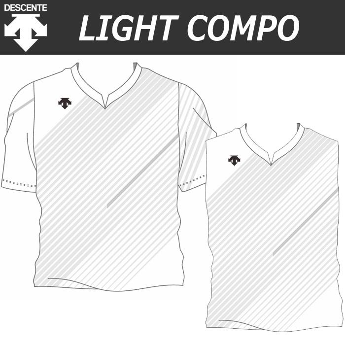 【20SS】【デサント】【lightCompo】OVL-L4022/4022W/4022J/4032W 昇華プリントゲームシャツ(ユニセックス・メンズ:SS~XC/レディス:S~XA/ジュニア:130~150)/納期:約4週間~/最低作成枚数:新規5枚~追加1枚~