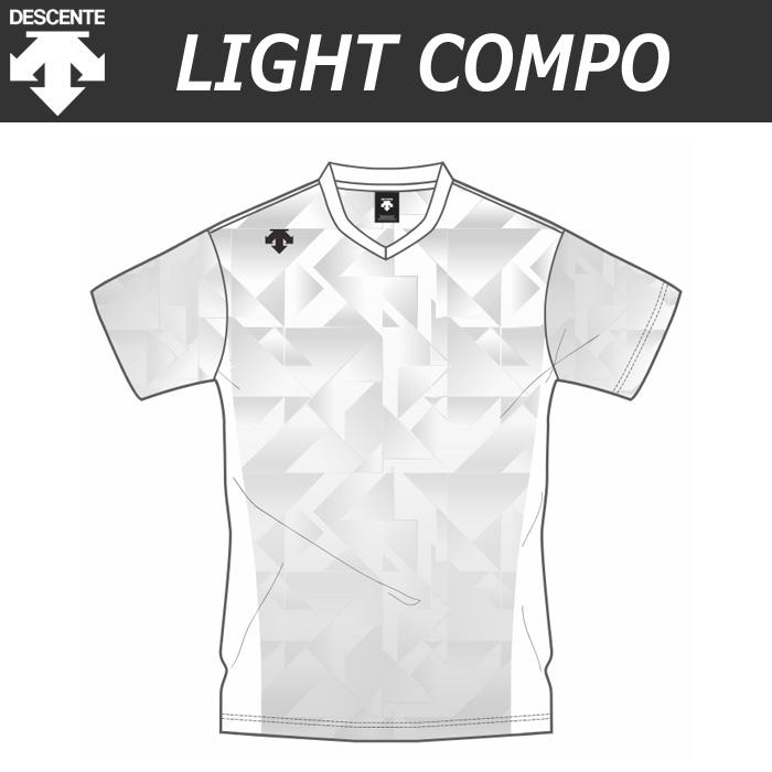 【デサント】【lightCompo】OVL-L4820/4820W 昇華プリントゲームシャツ(ユニセックス・メンズ:SS~XC/レディス:S~XA)/納期:約4週間~/最低作成枚数:新規5枚~追加1枚~
