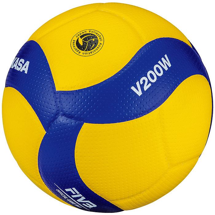 【ミカサ】V200W バレーボール【5号】【国際公認球】【検定球】/6個以上ご注文で名入れ可