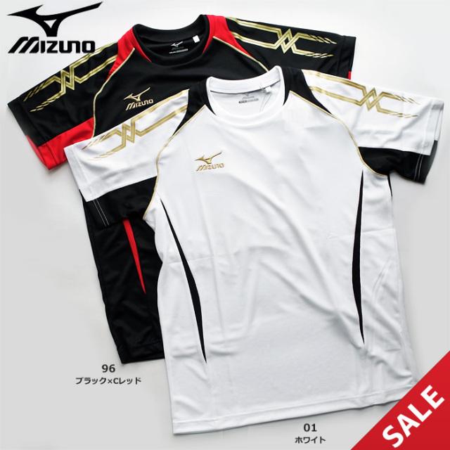 【SALE】【ミズノ】32JA6010 Tシャツ【半袖】(M、L)【即納】【★1着までクリックポストOK 送料220円】
