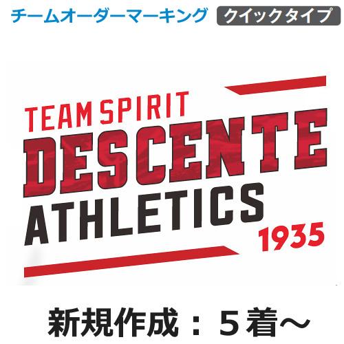 【デサント】チームオーダーマーキングセット【DSGR-A2】