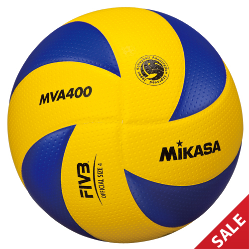 【SALE】【ミカサ】MVA400 バレーボール【4号】【検定球】 在庫限り 35%OFF!※在庫品の為、名入れ不可【即納】