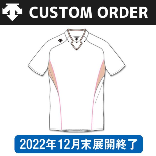【デサント】OVL-4043【カスタムオーダー】ゲームシャツ【半袖タイプ/衿付】(SS~XC)