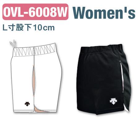 【デサント】OVL-6008W【カスタムオーダー】ゲームパンツ(レディス:SS~XC)