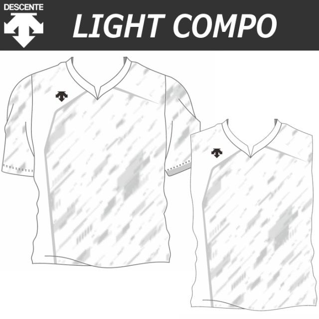 【20SS】【デサント】【lightCompo】OVL-L4023/4023W/4023J/4033W 昇華プリントゲームシャツ(ユニセックス・メンズ:SS~XC/レディス:S~XA/ジュニア:130~150)/納期:約4週間~/最低作成枚数:新規5枚~追加1枚~