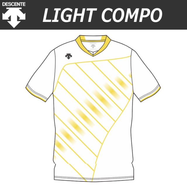 【デサント】【lightCompo】OVL-L4421/4421W 昇華プリントゲームシャツ(ユニセックス・メンズ:SS~XC/レディス:S~XA)/納期:約4週間~/最低作成枚数:新規5枚~追加1枚~