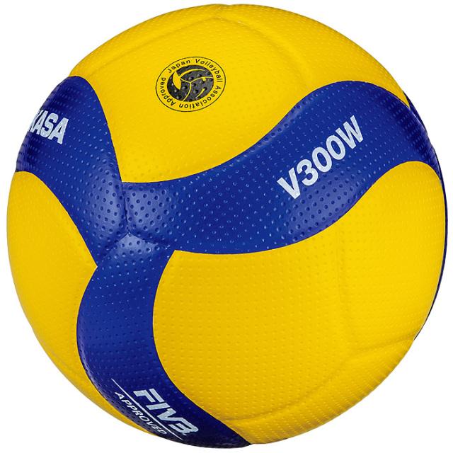 【ミカサ】V300W バレーボール【5号】【国際公認球】【検定球】/6個以上ご注文で名入れ可