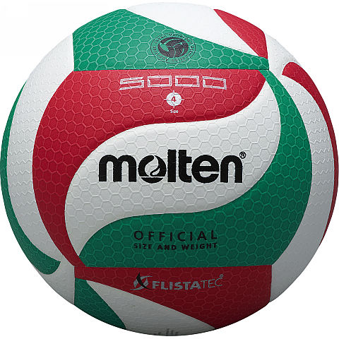 【モルテン】V4M5000 フリスタテック バレーボール5000【4号】【検定球】/6個以上ご注文で名入れ可