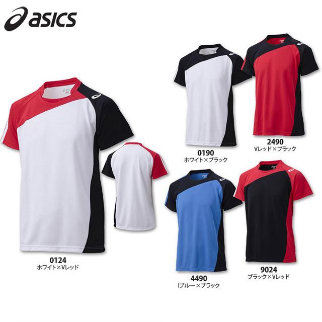 【アシックス】XW1321 ゲームシャツ【半袖】(140~XO)【らくらくチョイス対応】【サイズ別注対応:2XO、3XO】※サイズ別注、定番外サイズは納期が約2~3カ月掛かります