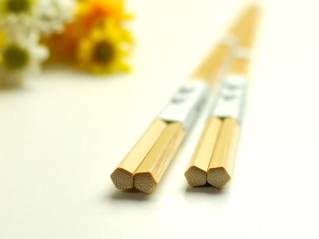 夫婦箸五画 竹箸 すべらない箸 2膳セット
