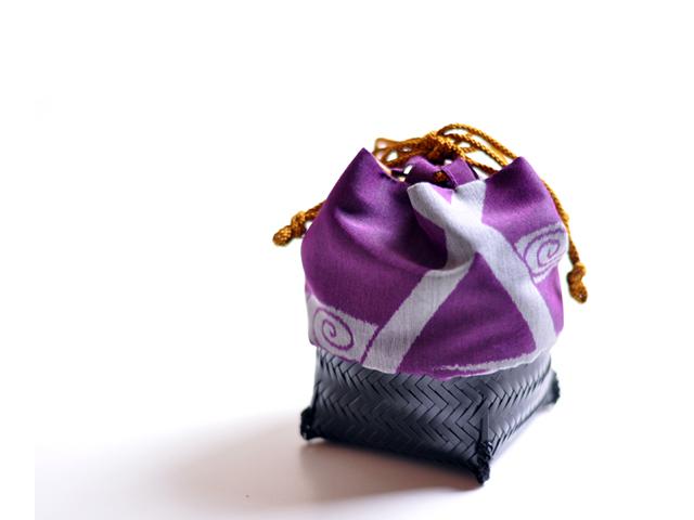籠巾着「HAKO」鳴門カートメイン