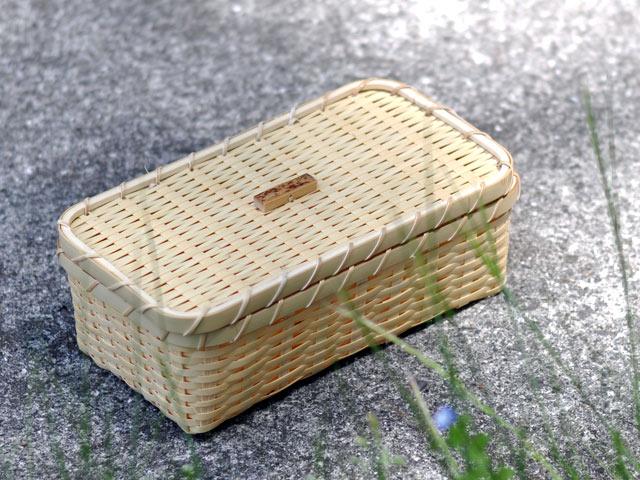 おにぎりかご 竹かご 弁当箱 カート1