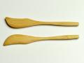 バターナイフ、カトラリー、竹製、