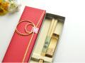 長寿祝 敬老の日ギフト 竹箸由布と箸置きセット