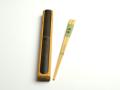 箸箱黒竹と竹箸由布のセットカート1 箸箱セット 箸入れとお箸