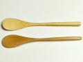 ジャムスプーン、竹製品、柄が長い、カトラリー、ナチュラル