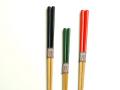 竹箸色彩3膳セット 家族箸 色が選べる カート1