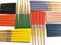 竹箸色彩5膳セット、おもてなしに、取り箸に、家族箸