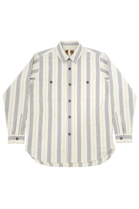 ARCTIC SHIRT COTTON STRIPE (LYBRO)/ アークティックシャツ コットンストライプ (ライブロ)[2020秋冬]