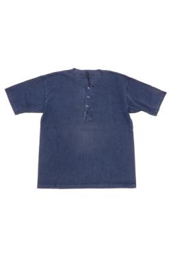 50'S HENLEY NECK SHIRT - PIGMENT / 50'S ヘンリーネックシャツ - ピグメント [2021春夏]