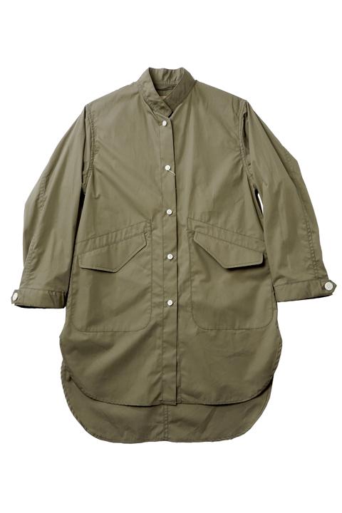 [LADIES] MODS COAT SHIRT / モッズコートシャツ [2021秋冬]