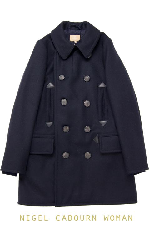 ナイジェルケーボン(NIGEL CABOURN WOMAN)のUSNロングPコート