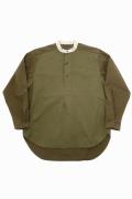 BRITISH ARMY MIX P/O SHIRT / ブリティッシュアーミーミックスプルオーバーシャツ [2020秋冬]