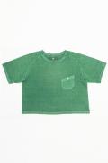 【NIGEL CABOURN  WOMAN】 BIG T-SHIRT (PIGMENT) ビッグTシャツ(ピグメント/顔料染め) [2019春夏]