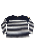 LIFE BOAT BASQUE SHIRT / ライフボートバスクシャツ (WOMAN) [2019秋冬]