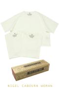 ナイジェルケーボンウーマン(NIGEL CABOURN WOMAN)の3パックジムTシャツ