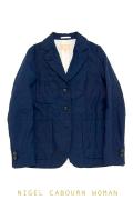 ナイジェルケーボンウーマン(NIGEL CABOURN WOMAN)のベーシック3パッチポケット ジャケット リネン
